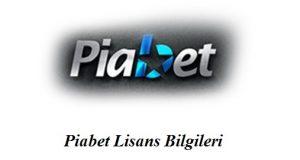 Piabet Lisans Bilgileri