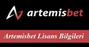 Artemisbet Lisans Bilgileri
