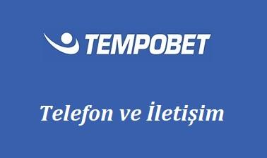 Tempobet Telefon ve İletişim